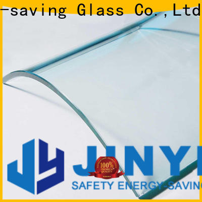customized custom curved glass at discount for window