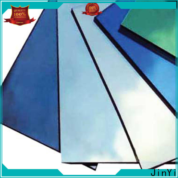 JinYi decorative reflective glass price for office