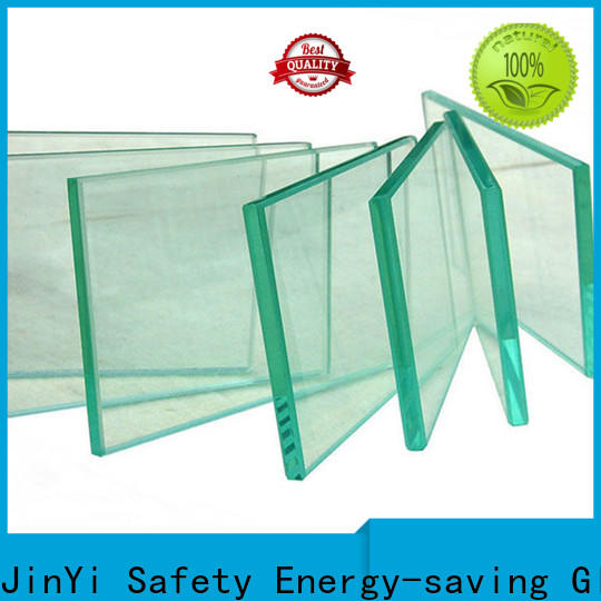 JinYi safety building toughened glass door decorative for showering enclosure