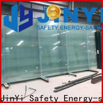 JinYi laminated triple glazed glass lowe for curtain