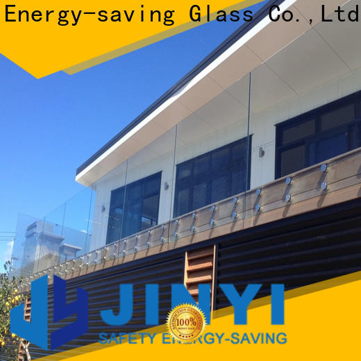 JinYi laminated laminated tempered glass factory outdoor