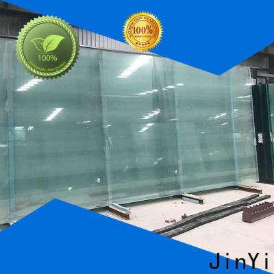 JinYi jumbo size double glazed glass panels for curtain