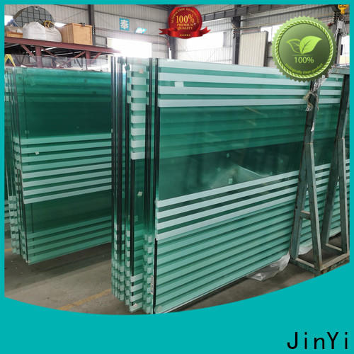 JinYi laminated glass thickness supplier for safety