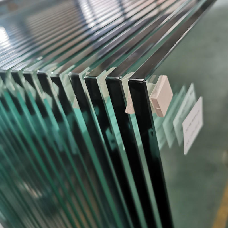 12mm toughened safety glass for balcony railing design glass pool fencing
