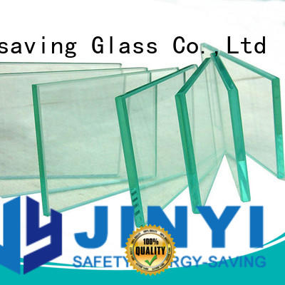 JinYi clear tempered glass clear for shower