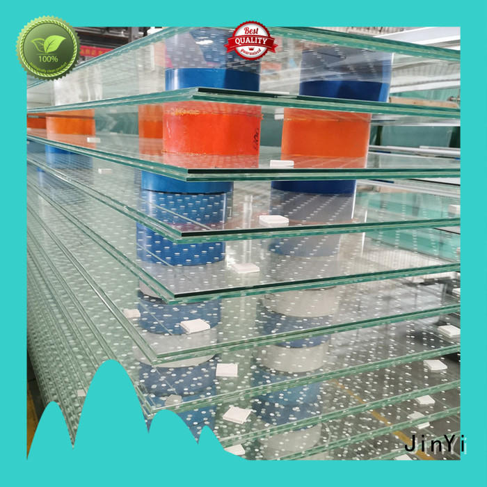 clear laminated tempered glass railing outdoor
