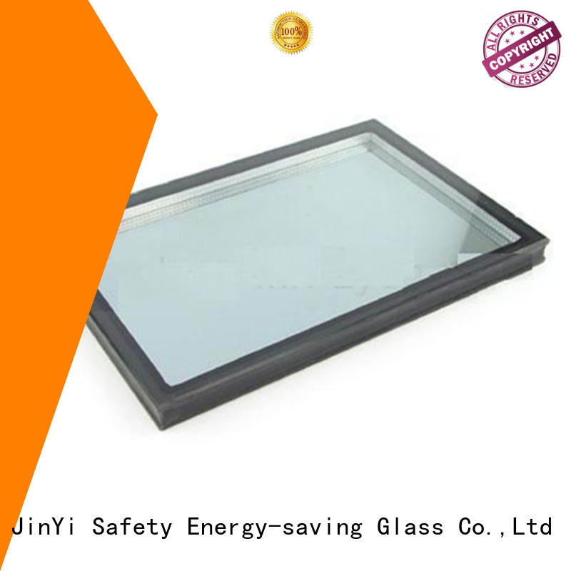 JinYi insulated glass wall for curtain