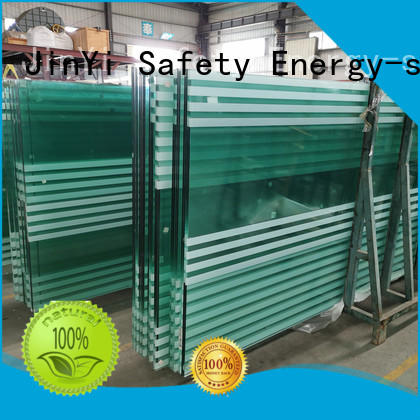 JinYi frameless laminated tempered glass manufacturer for safety