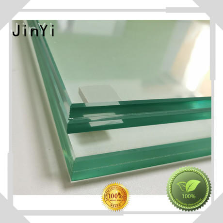 JinYi coloured laminated glass sheets factory for safety