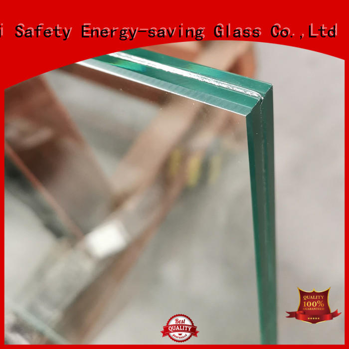 JinYi frameless white laminated glass inquire now outdoor