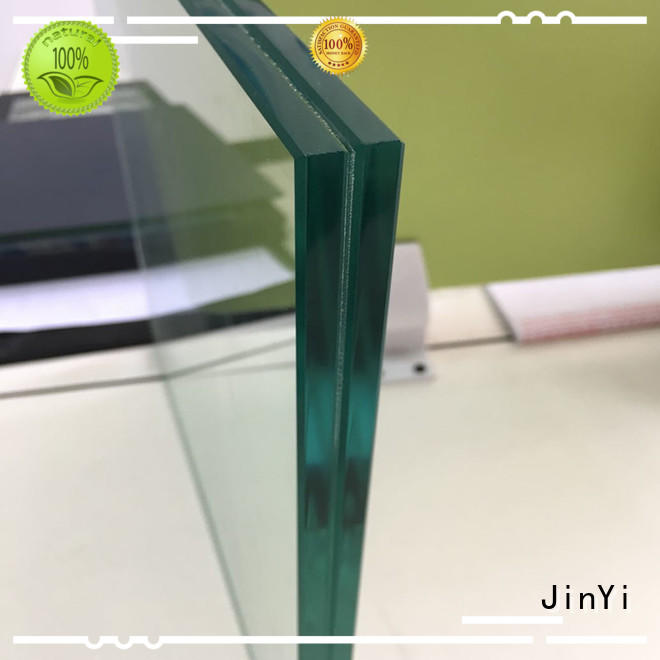 JinYi coloured white laminated glass manufacturer for safety