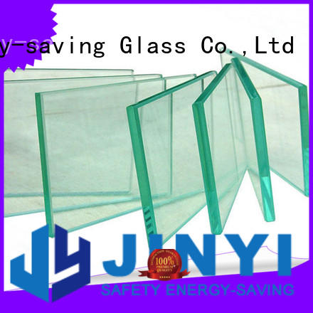 JinYi wall panel frosted tempered glass decorative for shower