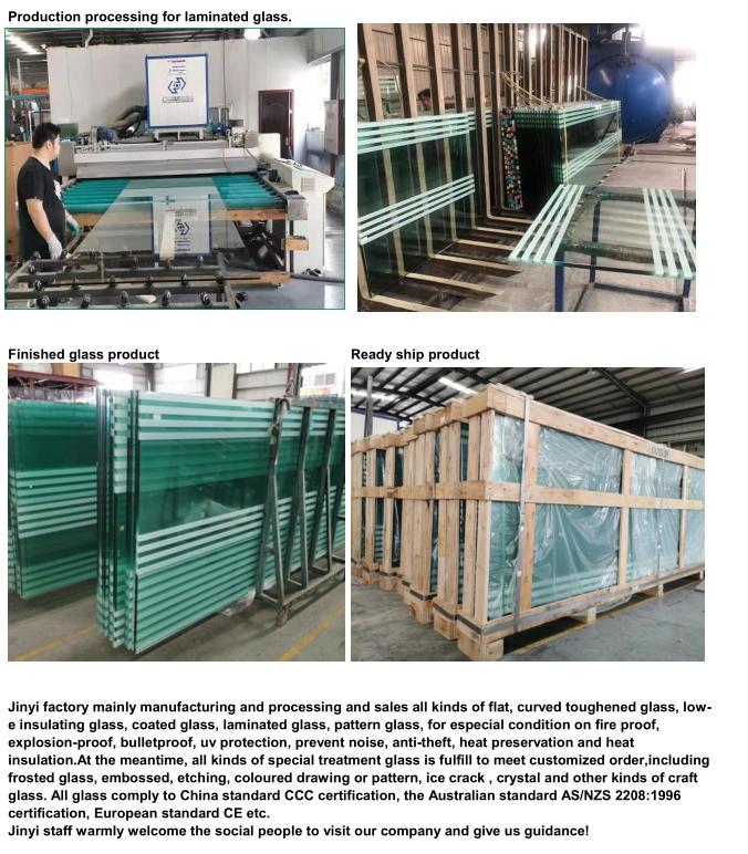 JinYi laminated laminated glass windows manufacturer for safety-2