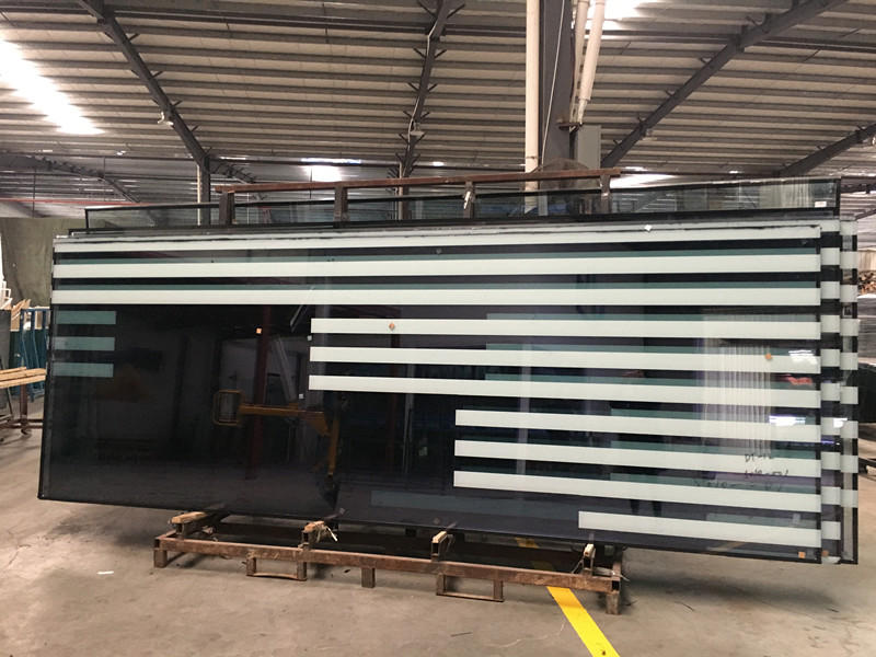 JinYi tempered insulated glass panels facade for curtain-3