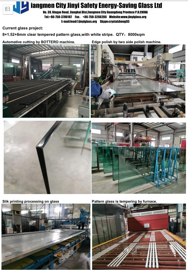 JinYi laminated laminated glass windows manufacturer for safety-1