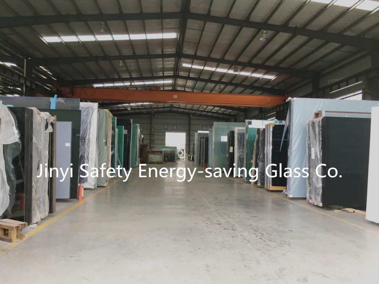 JinYi various sizes insulated glass panels triple for curtain-3