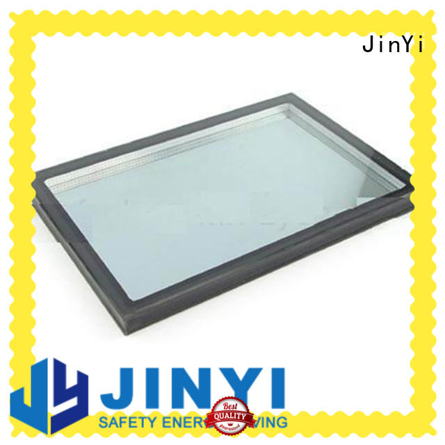 JinYi various sizes insulated glass panels triple for curtain