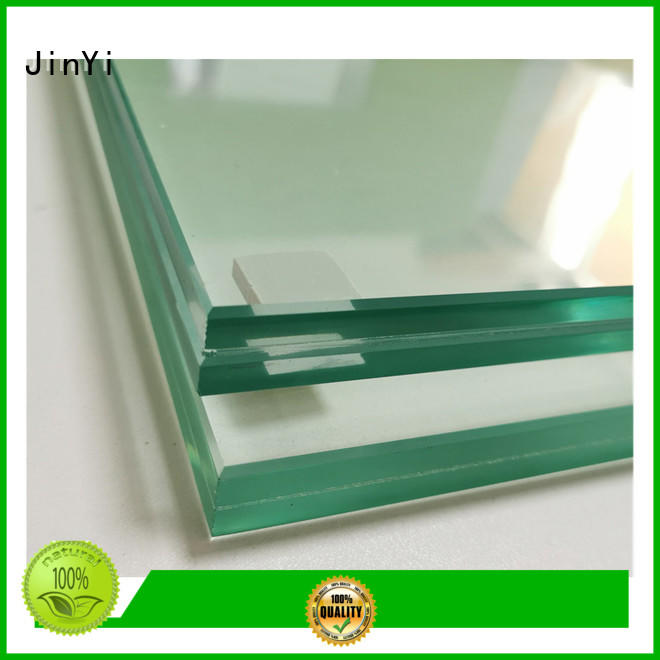 JinYi laminated laminated safety glass manufacturer outdoor